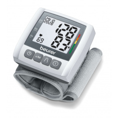 Апарат за кръвно налягане Beurer BC 30 Wrist blood pressure monitor; risk indicator; arrhythmia detection; medical device; circumferences 13.5-19.5 cm; storage bag