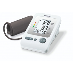 Апарат за кръвно налягане, Beurer BM 26 Upper arm blood monitor; risk indicator; arrhythmia detection; medical device; circumferences 22-35 cm; storage bag