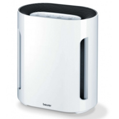 Пречиствател на въздух, Beurer LR 210 air purifier; three-layered filter system /HEPA filter/; 60 watts; max. 10 m2-28 m2; filter change indicator; timer;safety automatic swith-off